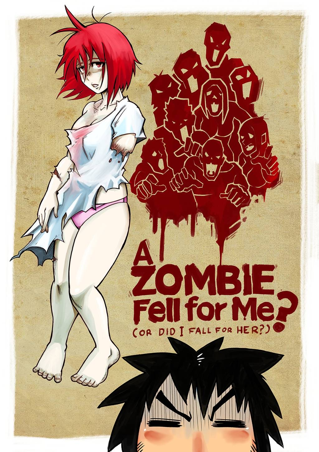 Creature-Cuties-Zombie-girl-Porn-Comic-ahegao-Halloween-artist-Mr.E-turned-out-kissing-romance-cunnilingus-oral-sex-big-breasts-Monster-girl-straight-sex-A-Zombie-Fell-for-Me-?