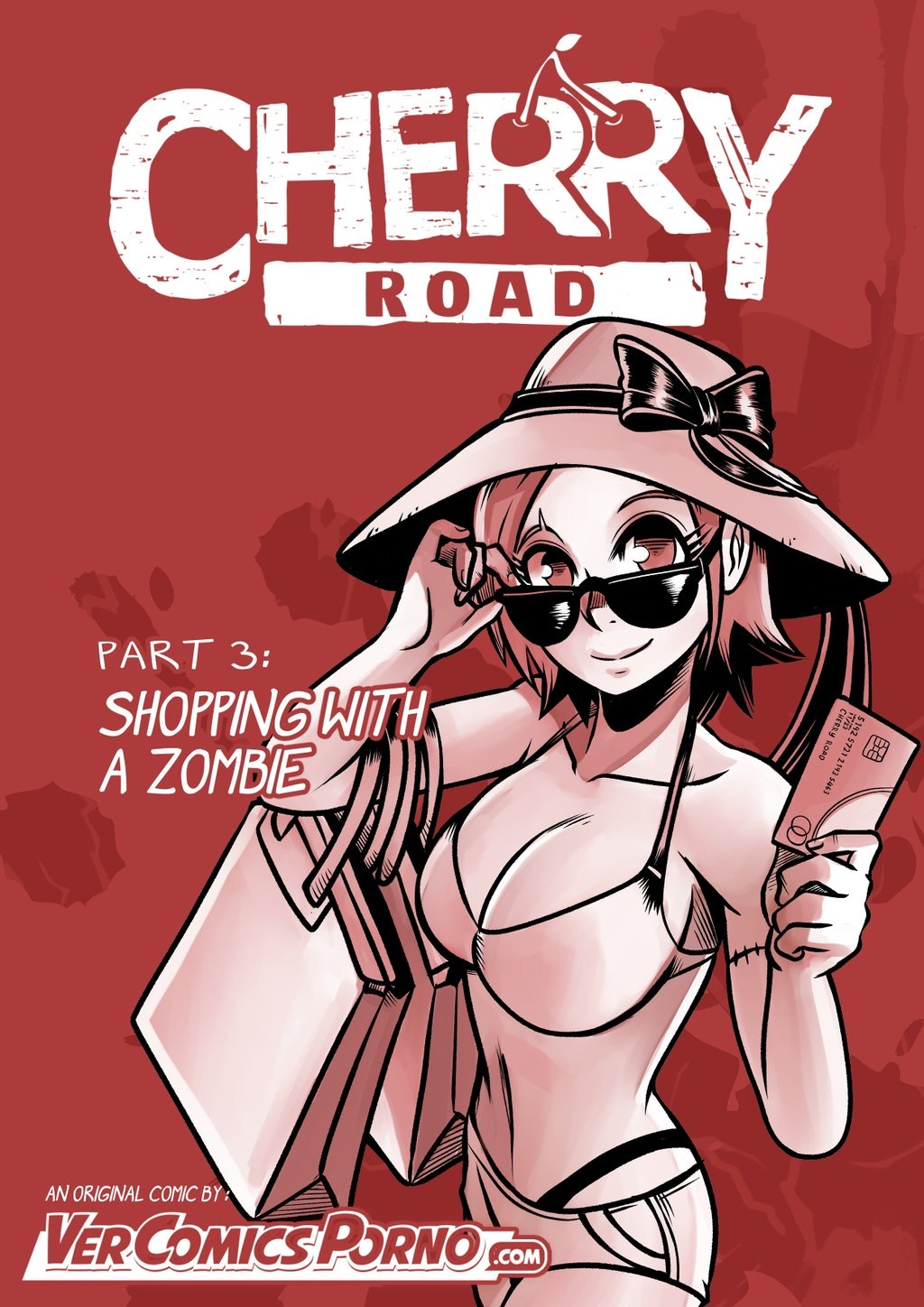 Creature-Cuties-Zombie-girl-Porn-Comic-voyeur-Halloween-artist-Mr.E-Cherry-Road-turned-out-Maid-cosplay-romance-shower-oral-sex-doggystyle-Monster-girl-straight-sex-Shopping-With-A-Zombie